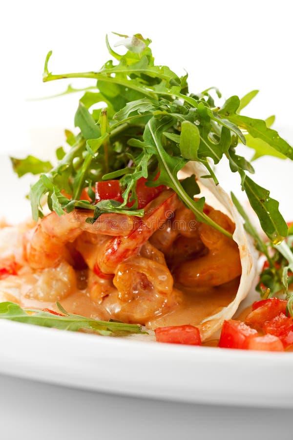 Tiger Shrimps royalty-vrije stock afbeeldingen