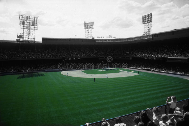 Tiger Stadium obrazy stock