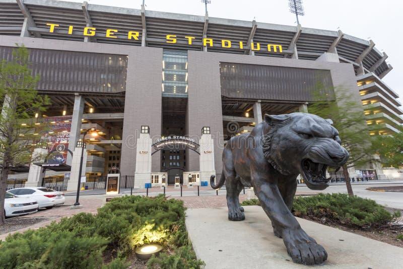 Tiger Stadium Luizjana stanu uniwersytet w Baton Rogue fotografia royalty free