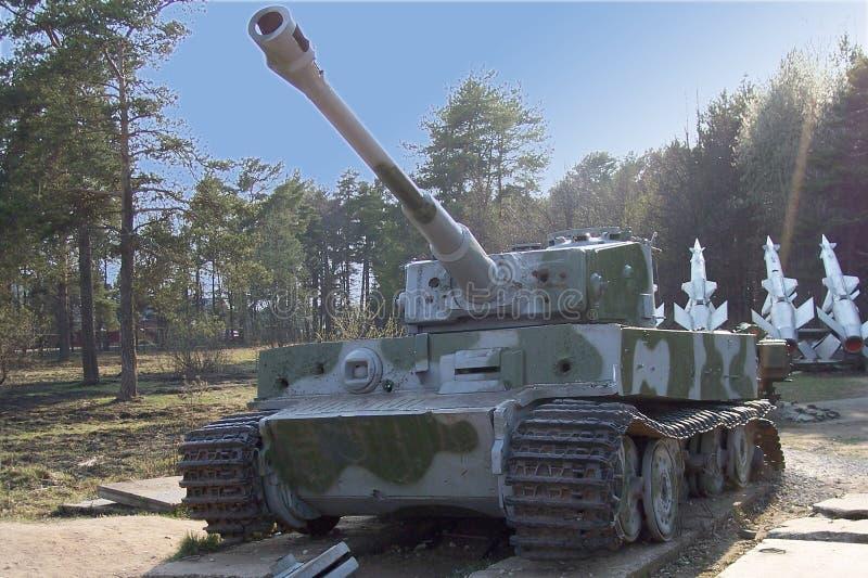 Tiger Tank stock image