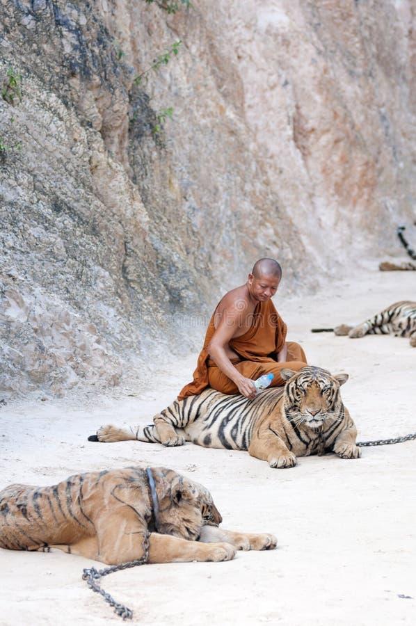Tiger Temple lizenzfreie stockbilder