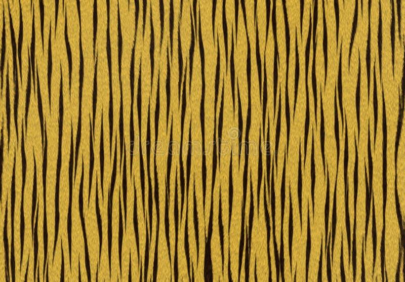 Tiger texture background vector illustration