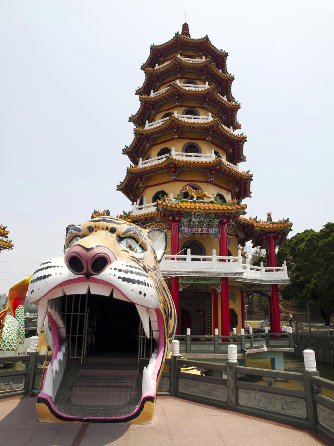 Free Tiger Tower In Taiwan Stock Photography - 27422342