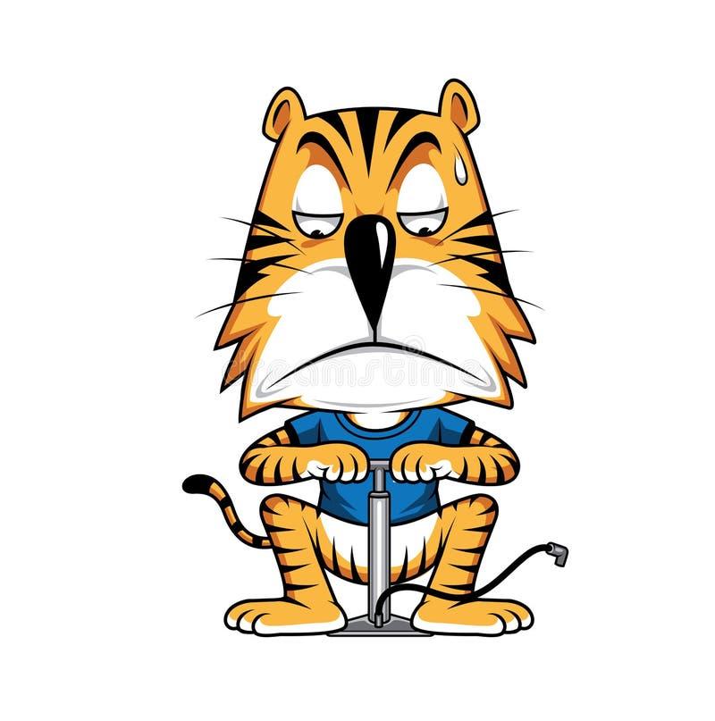 Tiger Vactor royalty-vrije stock afbeeldingen