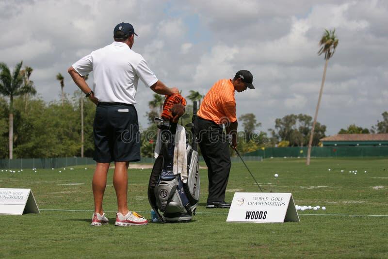 Tiger Woods à WGC Doral 2007 photographie stock libre de droits