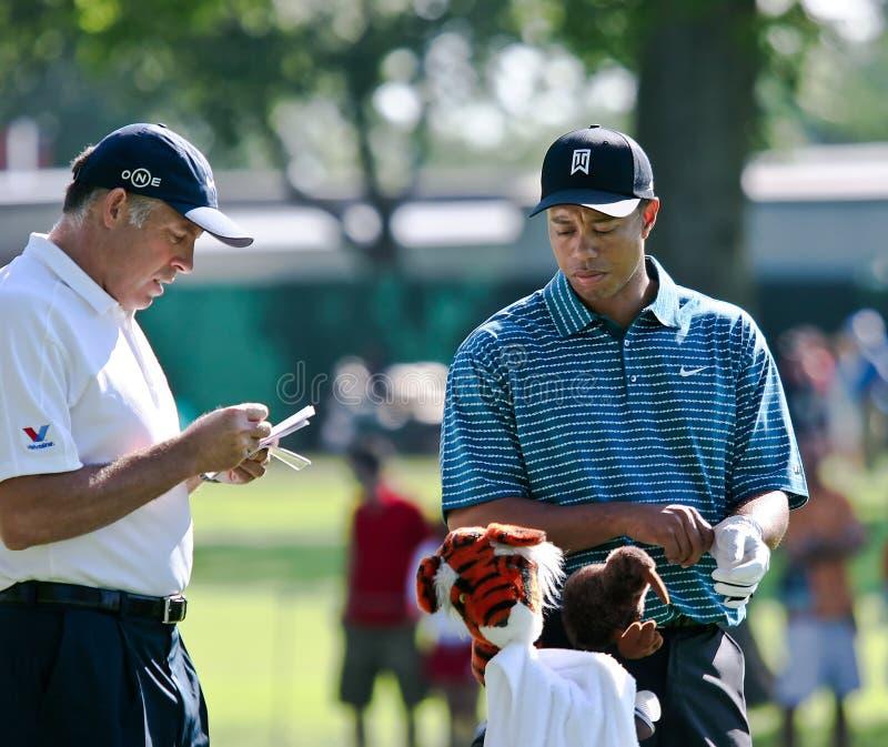Tiger Woods photos libres de droits