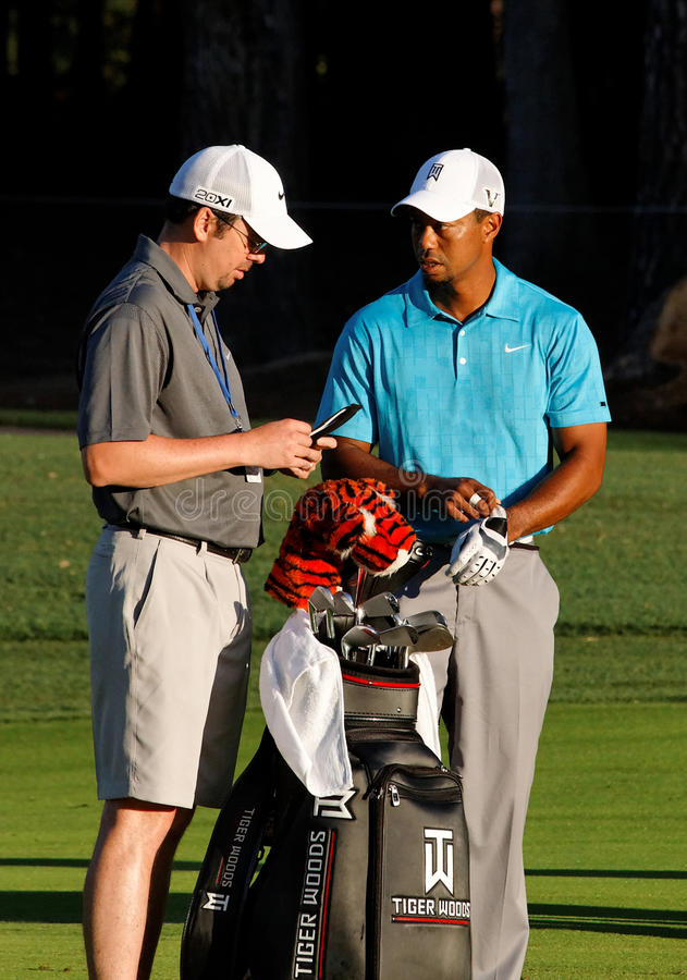 Tiger Woods lizenzfreie stockfotografie
