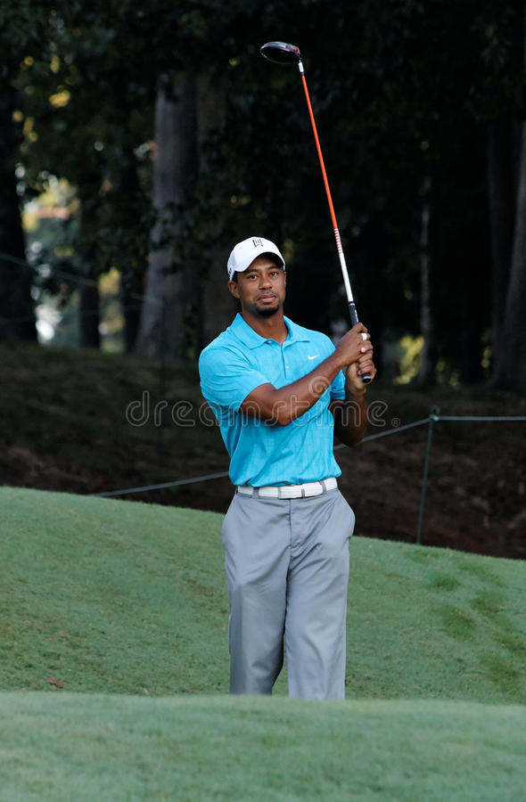 Tiger Woods image stock
