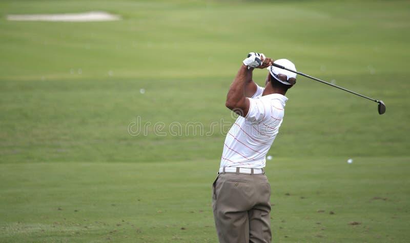 Tiger Woods au championnat 2012 de joueurs images libres de droits