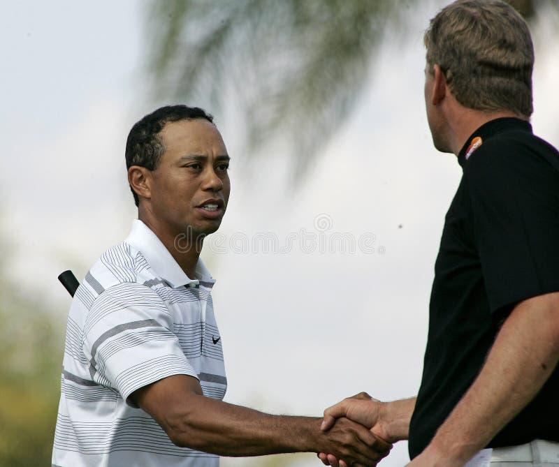 Tiger Woods chez Doral à Miami photos stock