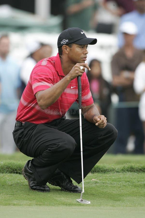 Tiger Woods chez Doral à Miami photo stock
