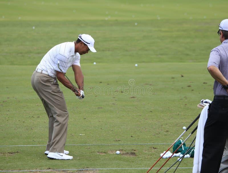 Tiger Woods, die Spieler, TPC Sawgrass, Florida stockfotos
