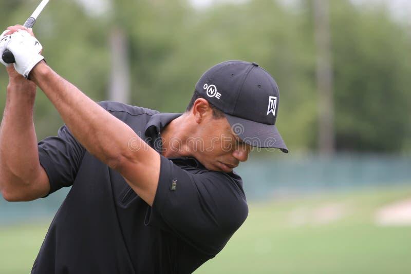 Tiger Woods Doral 2007 photographie stock libre de droits