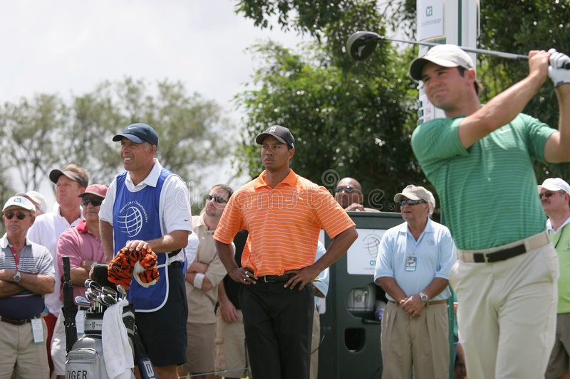 Tiger Woods Doral 2007 photo stock