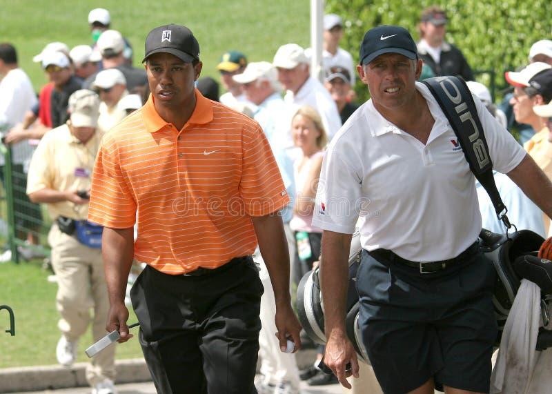 Tiger Woods Doral 2007 fotografia de stock