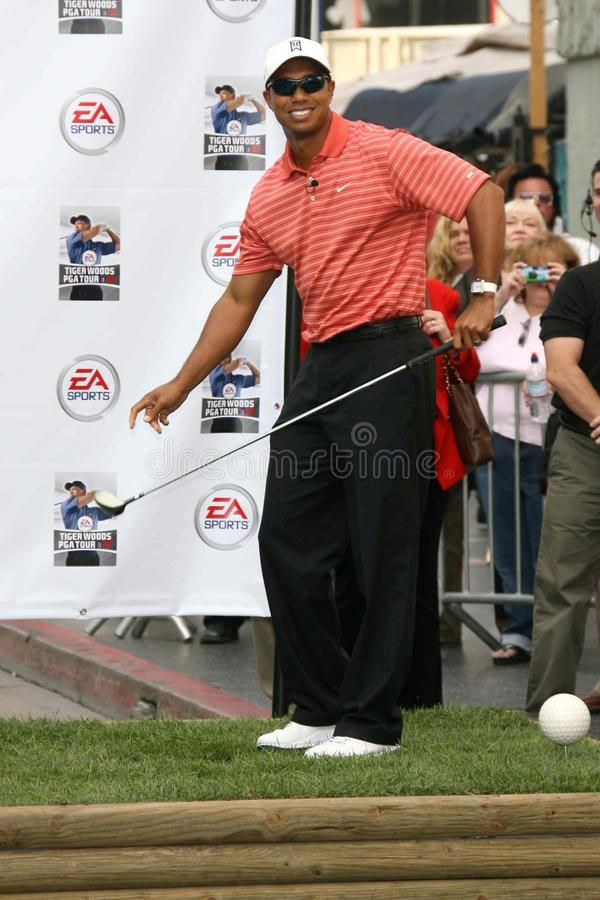 Tiger Woods. At the EA Sports ' PGA Tour 07' video game launch. Grauman's Chinese Theatre, Hollywood, CA. 10-10-06 royalty free stock images