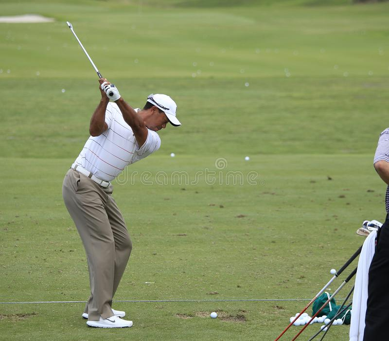 Tiger Woods, golf de TPC Sawgrass, les joueurs 2012, Ponte Vedra, FL photographie stock