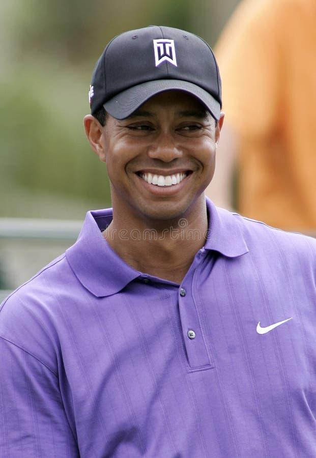 Tiger Woods konkurowanie przy Doral fotografia stock