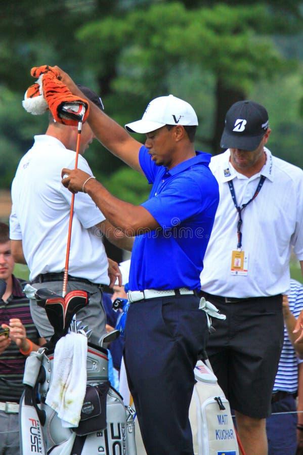 Tiger Woods PGA golfista zdjęcie stock