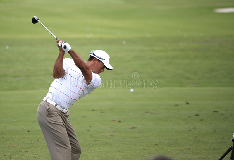 Tiger Woods , The Players, TPC Sawgrass, FL stock photography