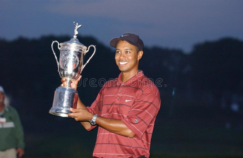 Tiger Woods Professional Golfer royalty-vrije stock foto