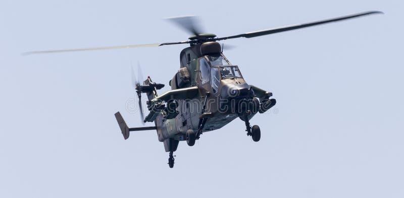 Tigerattackhelikopter royaltyfria bilder