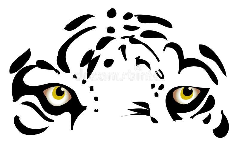 Tigeraugen stockfotos