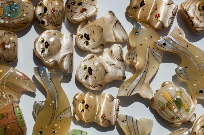 Tigereye. Tigerauge ist eine mikrokristalline, goldbraun bis goldgelb gestreifte Varietät des Minerals Quarz royalty free stock photos