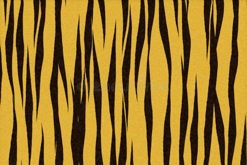 Tigerhaut stock abbildung