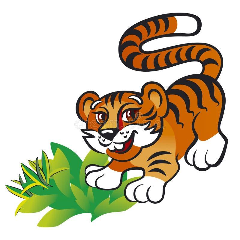 Tigerjunges vektor abbildung
