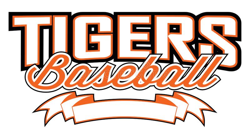 Tribal tiger baseball team design with paw print inside ball for school,  college or league.