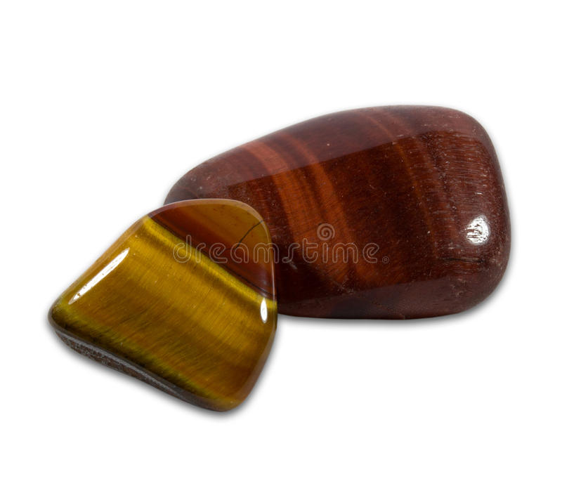 Download Tigers Eye Gemstones On  White Background Royalty Free Stock Photos - Image: 31857188