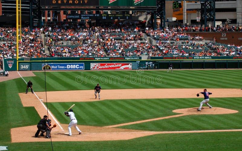 Tigers game July 11 2010, Jon Rauch stock photo