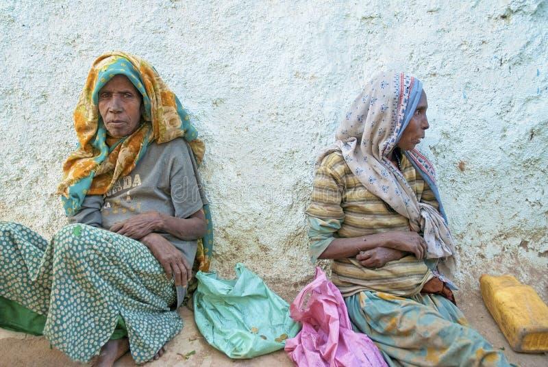 Tiggare i harar ethiopia royaltyfria foton