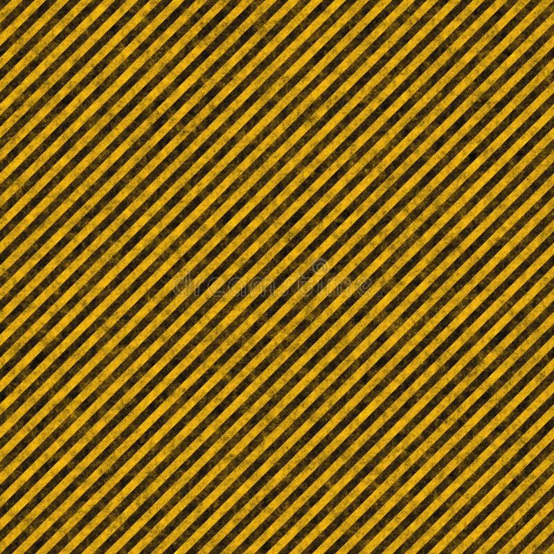 Tight Hazard Stripes stock illustration