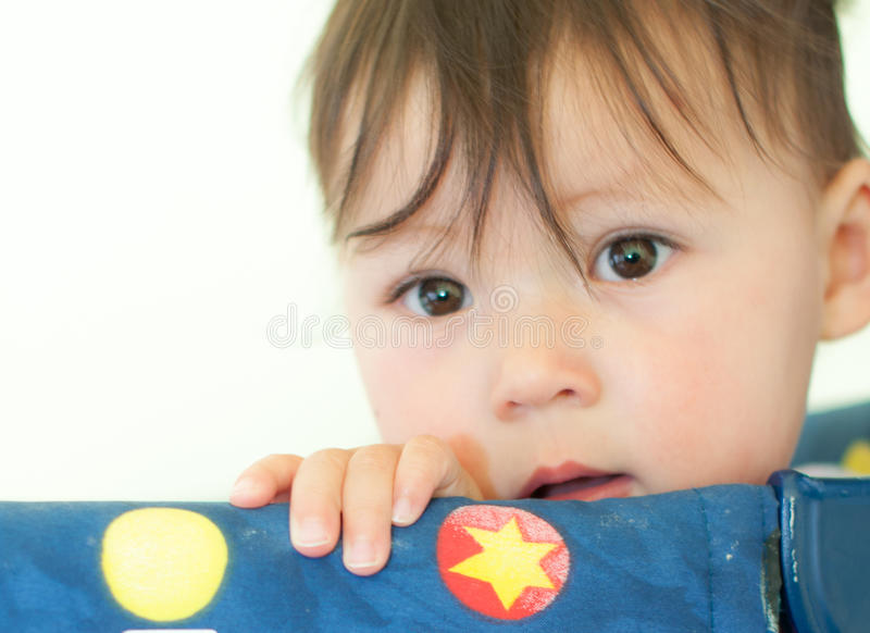 Download Tight Head Shot Of One Year Old Baby Stock Photo - Image: 26628832