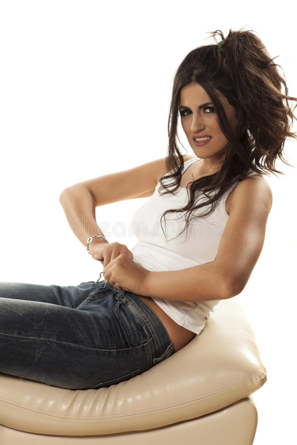 Free Tight Jeans Stock Images - 55569574