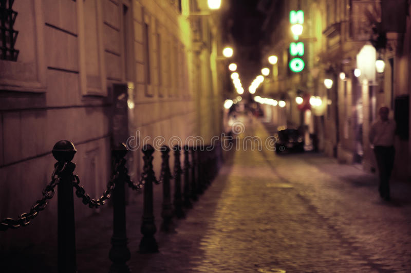 Download Tight Medieval Street In Old Town Stock Photo - Image: 27853302
