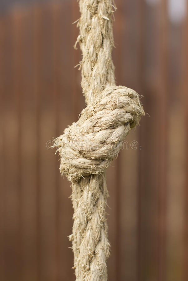 Tight Rope Knot Royalty Free Stock Image