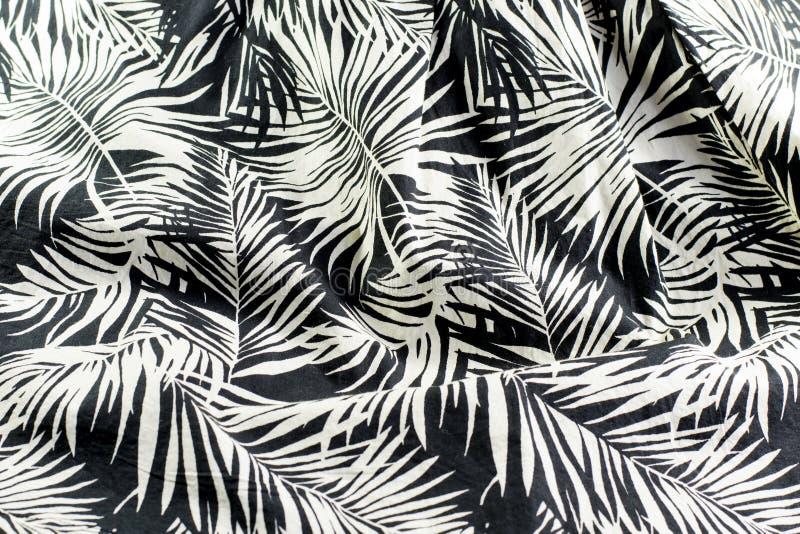 Tighting cotton fabric stock photo