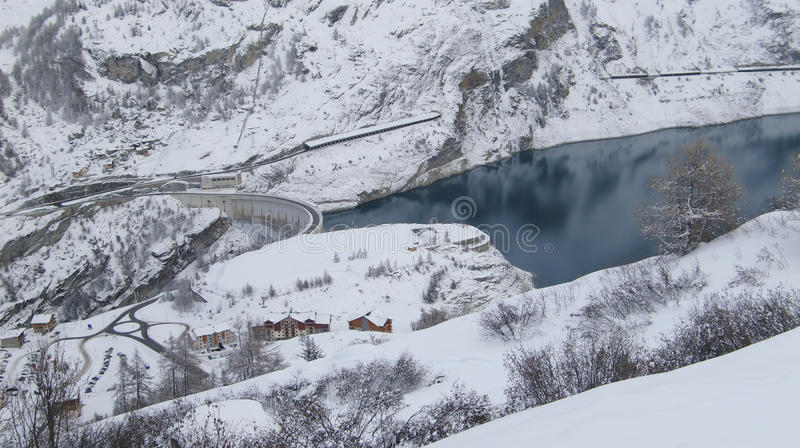 Download Tignes stock image. Image of france, village, mountains - 12402761