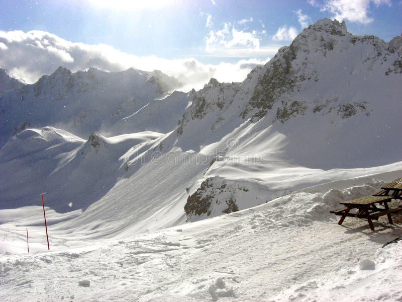 Download Tignes French Mountain stock image. Image of hiver, escalada - 7592483