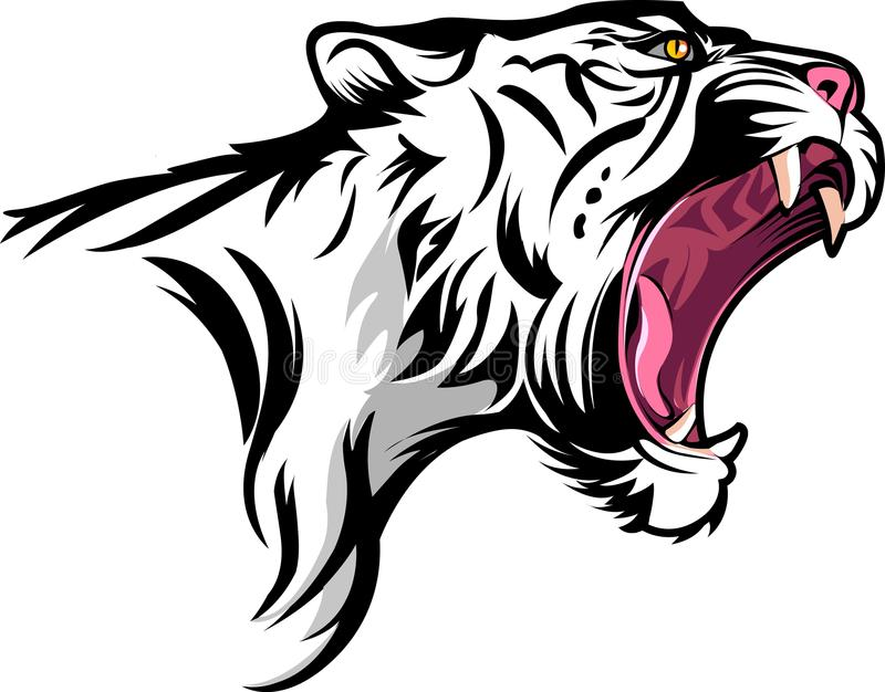 Tigre illustration libre de droits