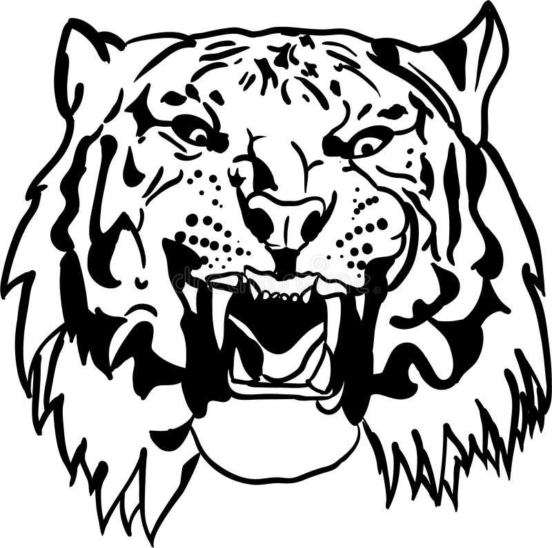 Tigre stock de ilustración