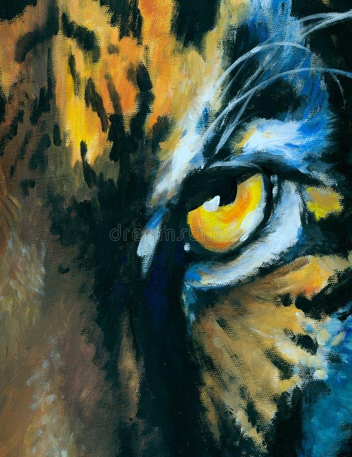 Tigre illustrazione vettoriale