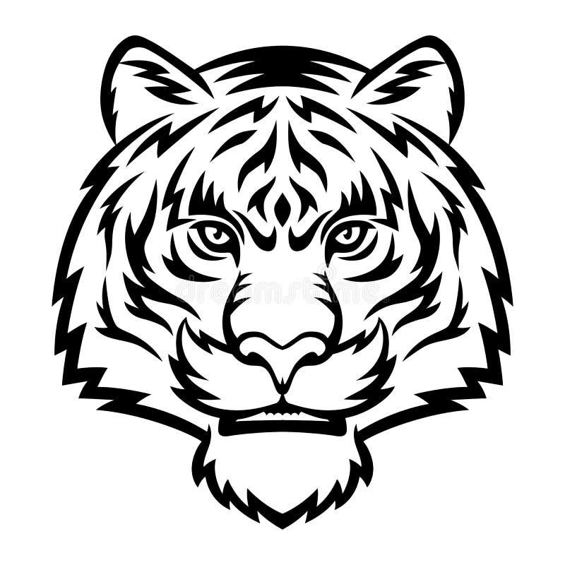 Tigre ilustración del vector