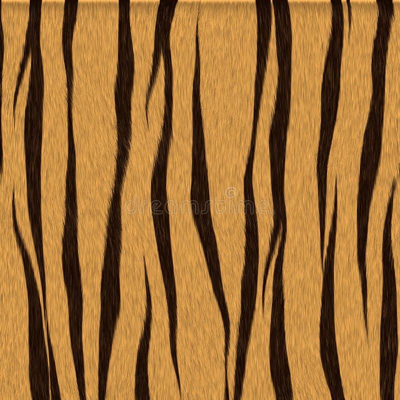 Tigre animal manchado de la textura stock de ilustración
