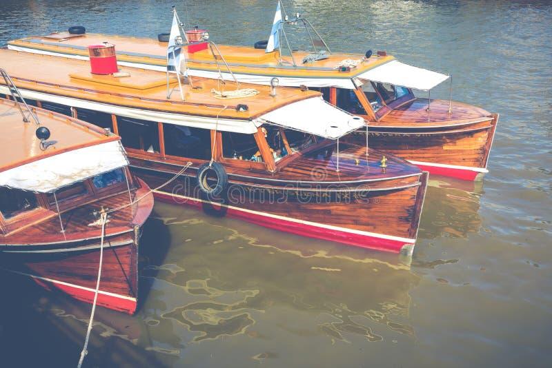 TIGRE ARGENTYNA, STYCZEŃ, - 31, 2018: Morski transport w El T obrazy royalty free