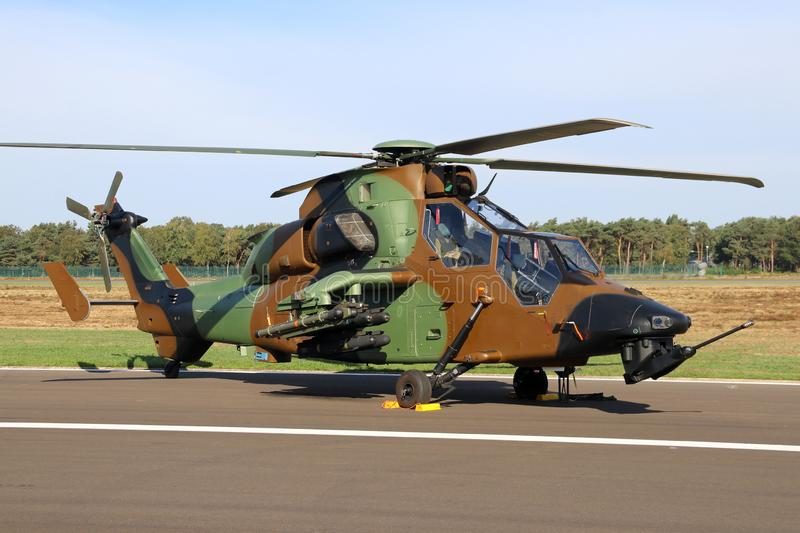 Tigre Attack helicopte royalty free stock photo