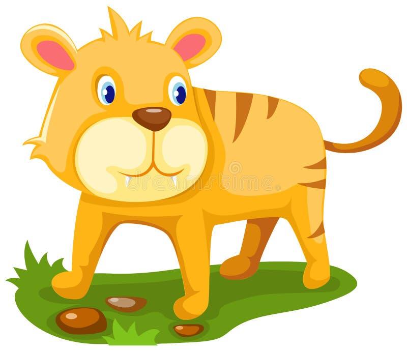 Tigre de dessin animé illustration libre de droits